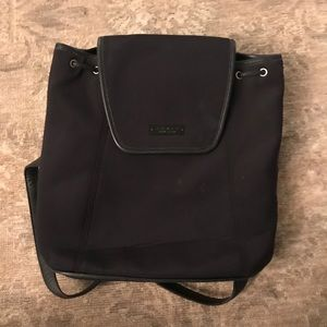 Coach Black Backpack- Excellent!